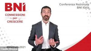 Conferenza Nazionale BNI 2021 - Connessioni per Crescere – Referral Tasting – Business a tavola – Claudio Messina