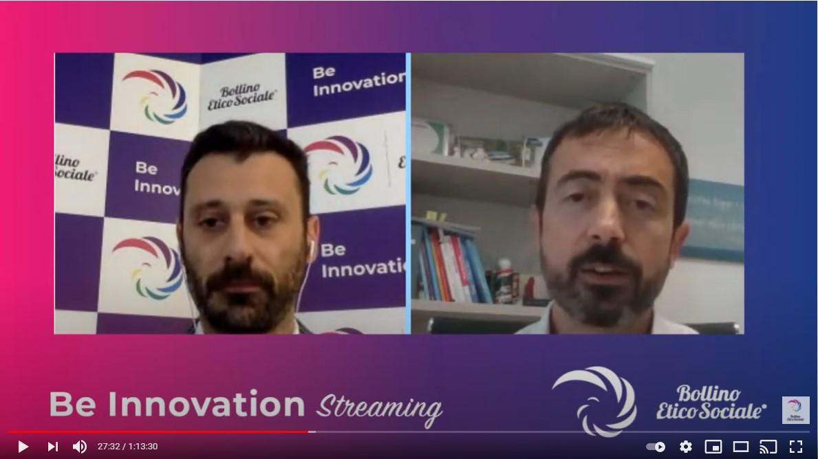 Be Innovation Streaming 2021 – Referral Tasting – Business a tavola – Claudio Messina