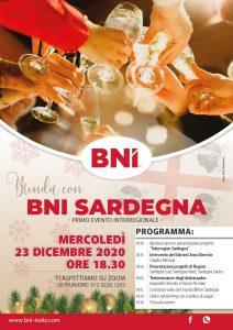 Brinda con BNI Sardegna – Referral Tasting – Business a tavola – Claudio Messina