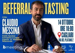 Referral Tasting a BMeeting - Cagliari